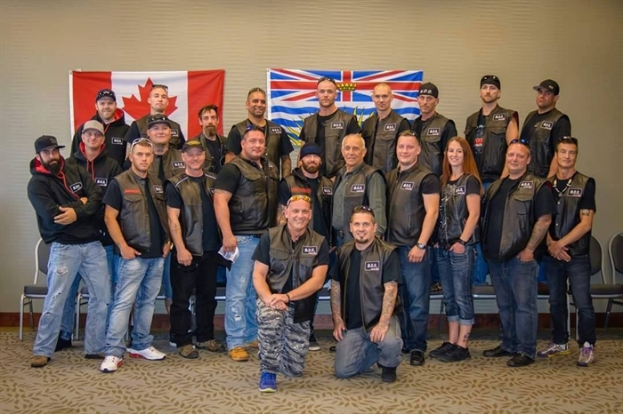 No criminal record check is required at the moment, but the Soldiers of Odin say new prospects are vetted to ensure they are not racist, sexist or discriminatory in any way. They are considering requiring record checks now that the group is growing.