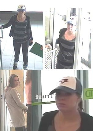 The woman pictured is a person of interest for the RCMP in the theft of a wallet on Sept. 6, 2016.