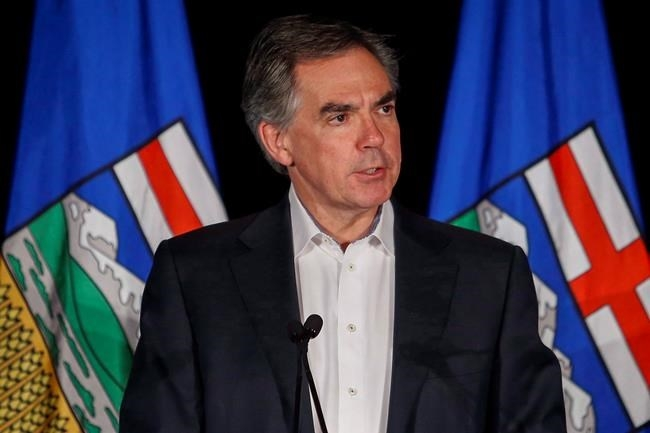 FILE PHOTO - Alberta PC Party leader Jim Prentice speaks to party faithful in Calgary, Alta., Tuesday, May 5, 2015. The former Alberta premier Prentice died Thursday, Oct. 13, 2016 in a plane crash outside of Kelowna, British Columbia.