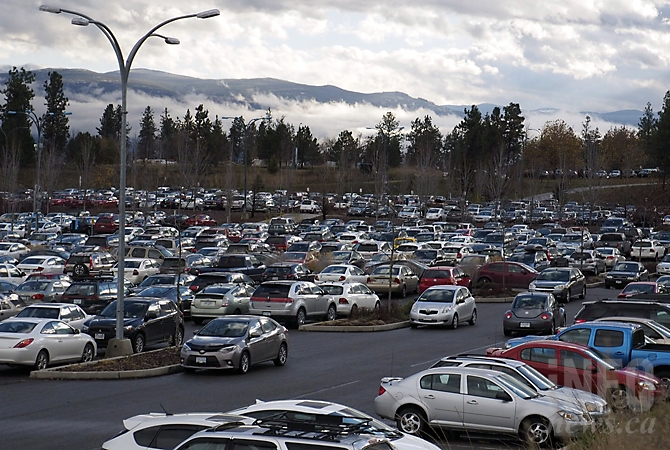 UBC Okanagan have relaxed their parking rules during the Central Okanagan bus driver's strike.