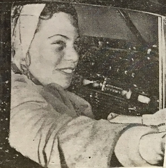 Passenger Ora Blackmer, was also a nurse. She and stewardess Lorna Franco spent the 36 hours following the crash treating co-pilot Leo Doucette, until he died in the early morning hours of Dec. 24, 1950