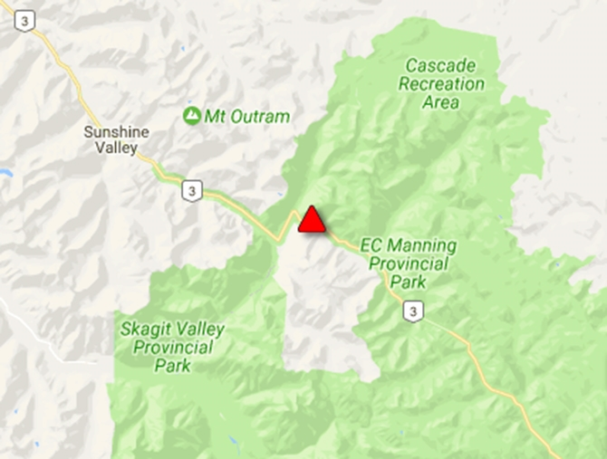 UPDATE: Highway 3 open, Drive BC says - InfoNews