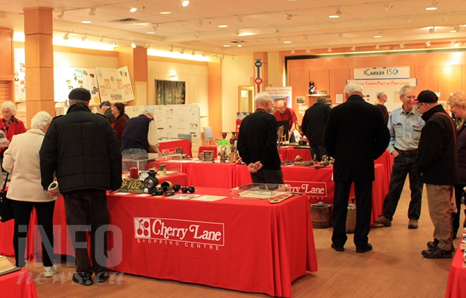 The historical society's Heritage display at Cherry Lane Mall continues to attract more and more visitors each year.