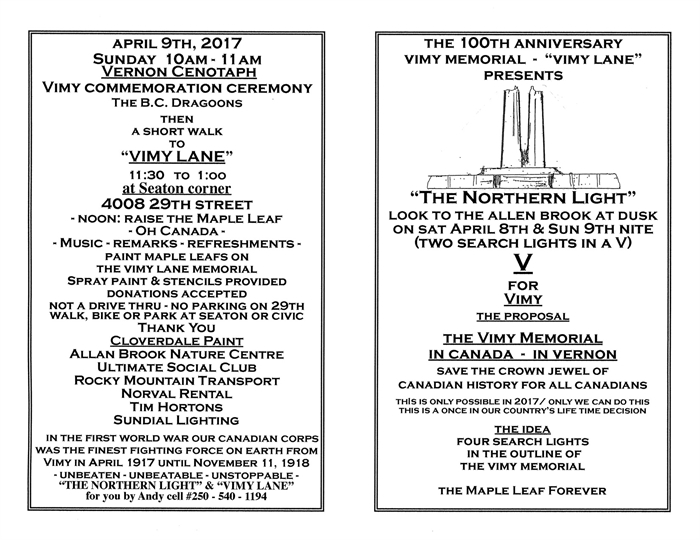 Information about the April 9 commemoration event.