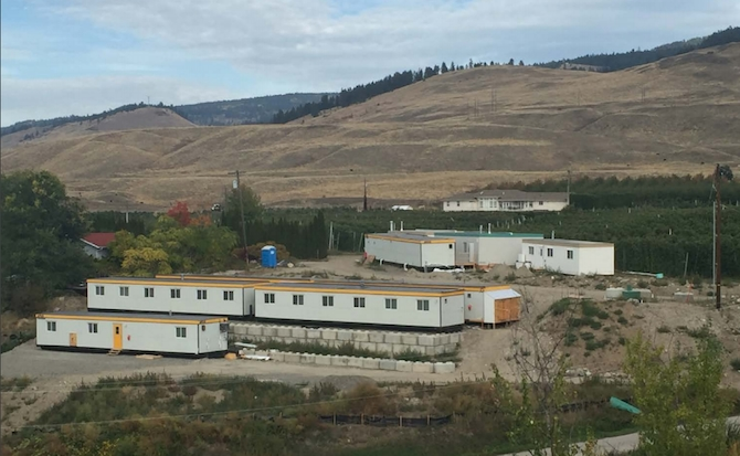FILE PHOTO- Temporary farm worker housing near Kelowna. There should be no shortage of foreign agricultural workers following a requirement for biometrics that began last year.