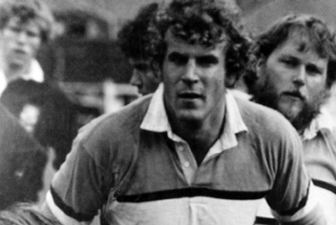 The B.C. Liberal candidate in Kelowna-Mission Steve Thomson had a long career playing rugby and even represented Canada in 1983.