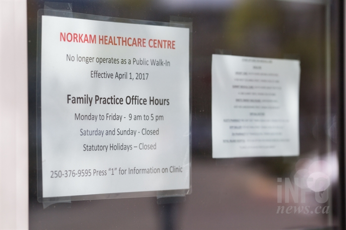 The NorKam Healthcare Centre was previously a walk-in clinic.