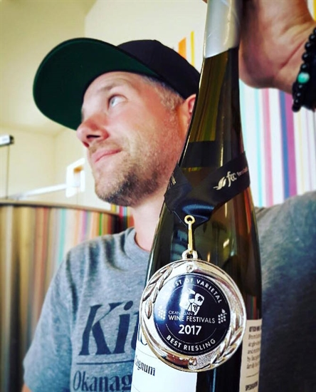 Kitsch Wines took home an award at the 2017 Okanagan Spring Wine Festival.