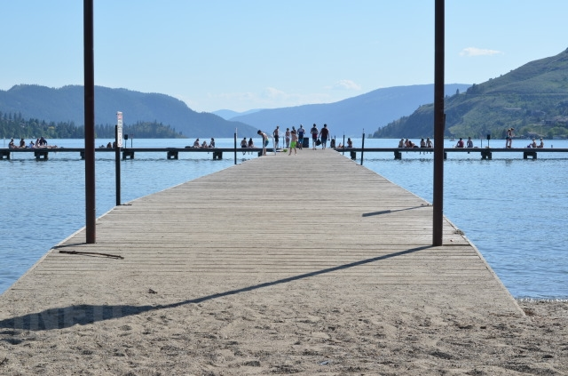 Rotary Pier at Kal Beach in Vernon May 20, 2015.