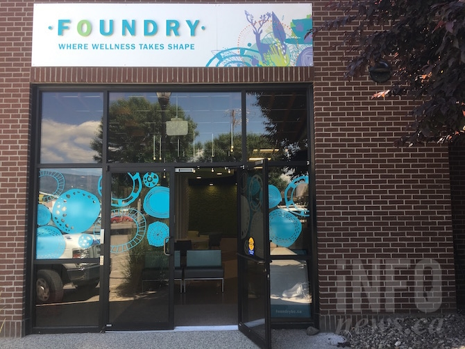 The Foundry, located at 1815 Kirschner Rd. in Kelowna will be opening in August.