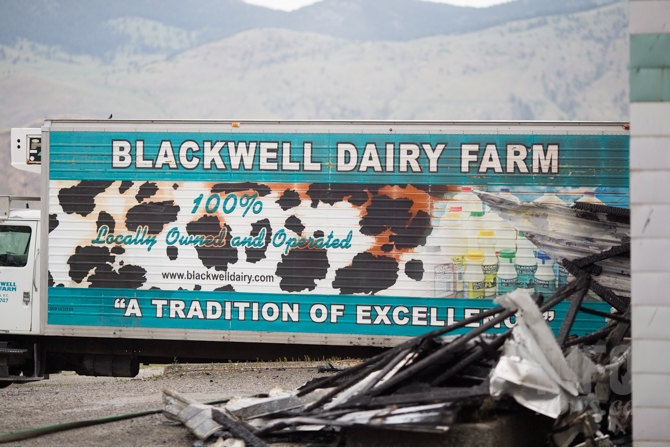 Blackwell Dairy processed dairy from across B.C.'s Interior.