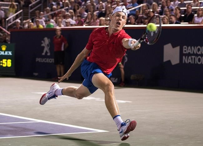 Denis Shapovalov S Coach Not Surprised By Teen S Poise Infonews