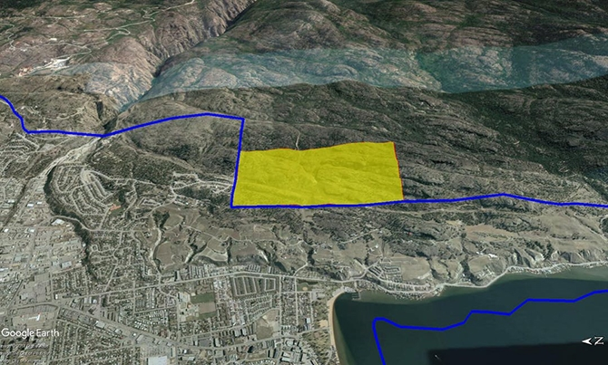 Penticton has embarked on an electoral approval process to expand its boundaries following an application to the city to have 330 acres included in the city's southeast corner.