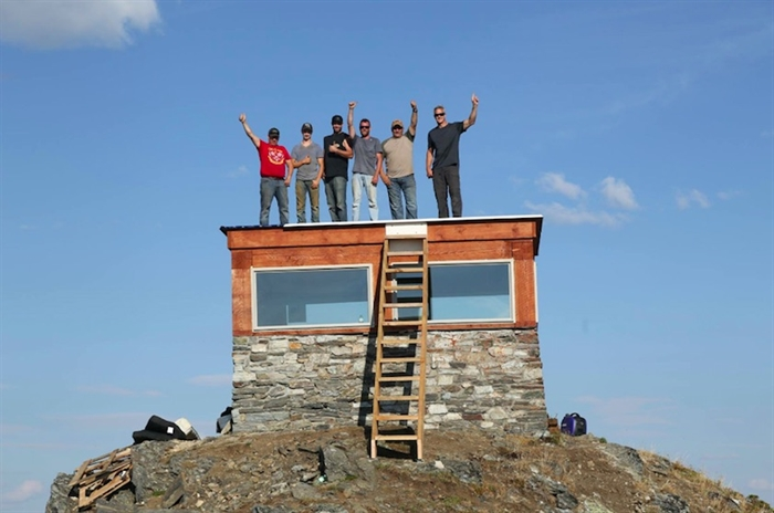 Eagle Pass fire lookout.