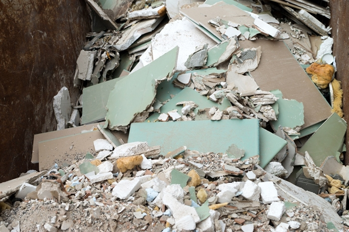 Asbestos concerns put a halt to drywall recycling at for Asbestos in drywall canada