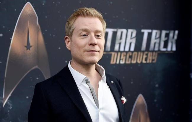 FILE PHOTO - In this Sept. 19, 2017 file photo, Anthony Rapp, cast member in