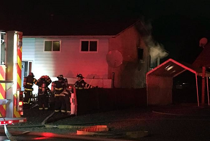 Firefighters found a dead body inside a Gaggin Road house after a fire Nov. 20, 2017.