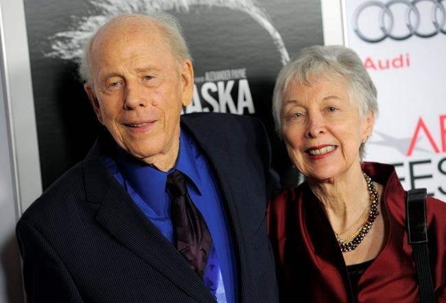 FILE - In this Nov. 11, 2013 file photo, Rance Howard, left, a cast member in