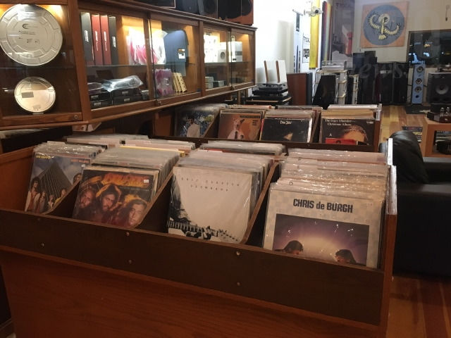 Spinners Sound Centre says turn tables, records and other vinyl-related products make up about half the stores sales these days.