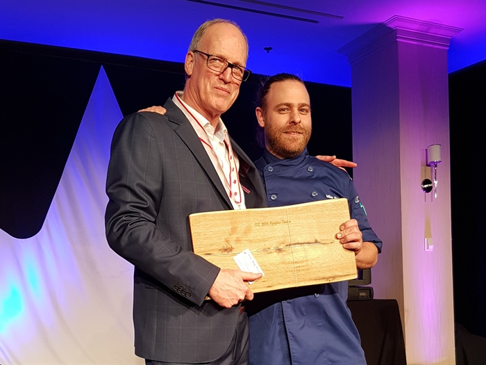 Winnipeg chef wins People's Choice Award at national