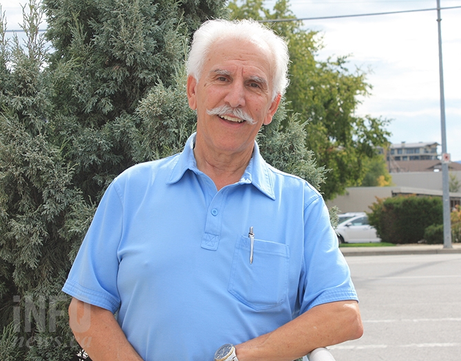 John Vassilaki, who is running for Penticton Mayor, has 12 years of council experience.