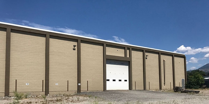 A Government Street industrial property recently sold for $3.2 million in Penticton.