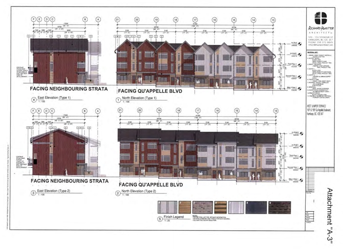 The design rendering from Richard Hunter Architect in Kamloops.