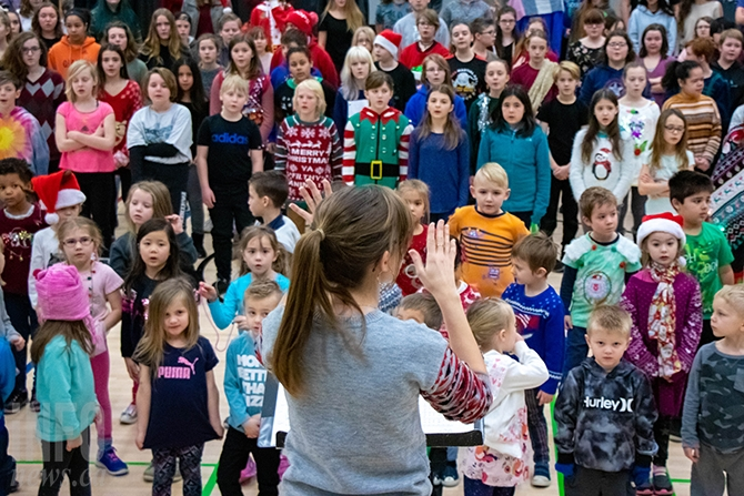 In Photos Behind The Scenes At The Christmas Concert Infonews Thompson Okanagan S News Source