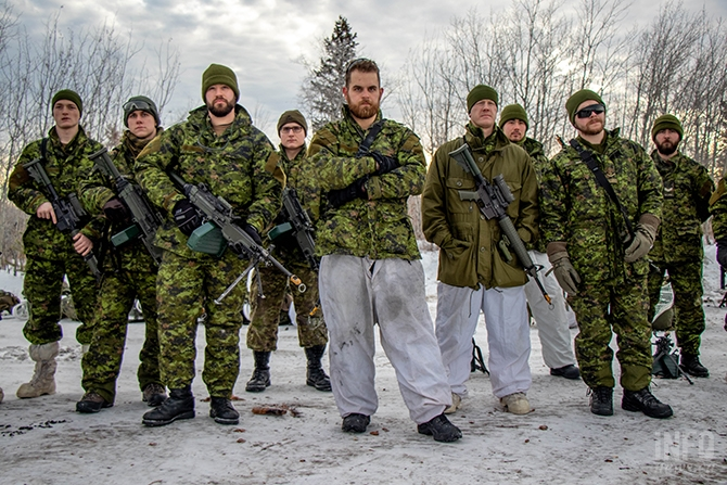 The Rocky Mountain Rangers are chiefly part time soldiers who are trained to help the Canadian army during local, national and international deployments.