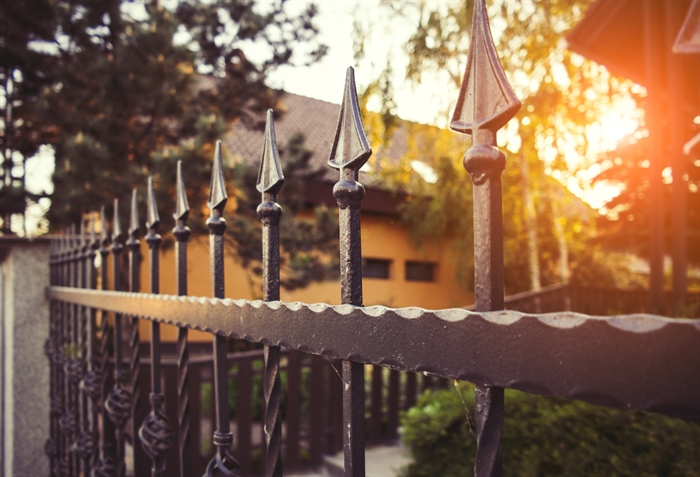 Wrought-iron fences aren't common but the ones that do have caused painful and gruesome deaths for roughly a dozen deer and moose per year.