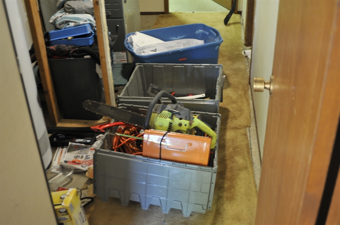 The Kamloops RCMP's Crime Reduction Unit learned stolen property was being stored at a residence in the 2000 block of Parkcrest Avenue.