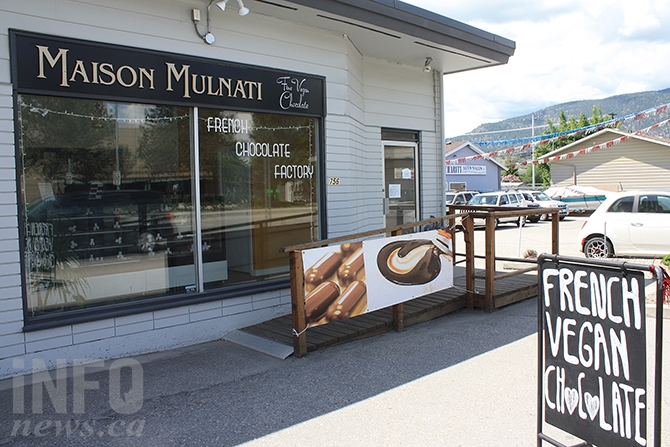 Maison Mulnati may not be that easy to find, but it's definitely worth the look, if you like chocolate.