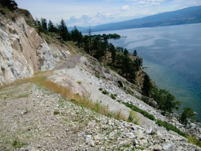 Goats Peak Regional Park will provide some off highway cycling only if access is allowed - or bought from - a private land owner in West Kelowna.