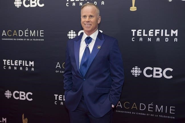 Gerry Dee arrives on the red carpet at the Canadian Screen Awards in Toronto on March 11, 2018.