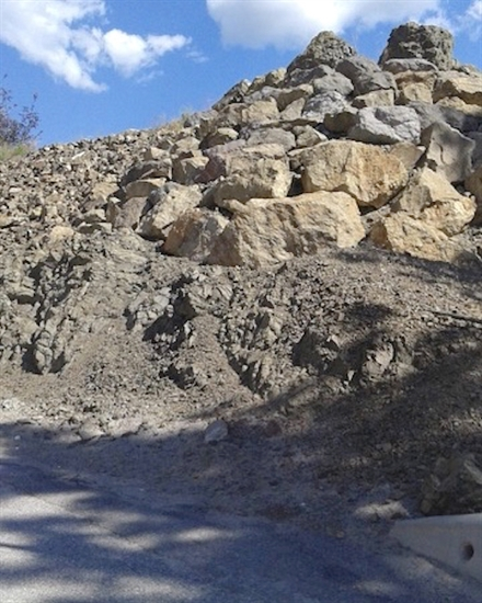West Kelowna residents worry boulders will fall into their neighbourhood if a Shannon Lake hillside development is allowed to go ahead.