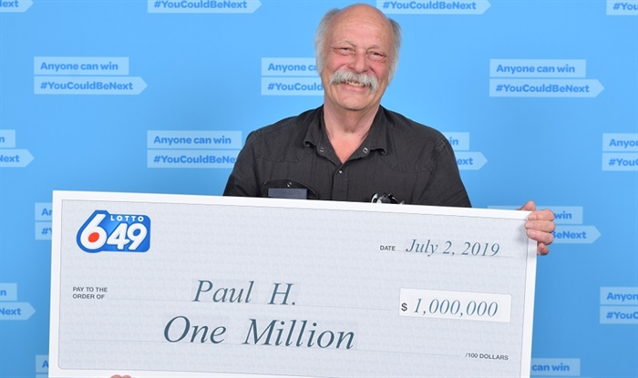 North Okanagan man's 'gut feeling' translates into $1M lotto