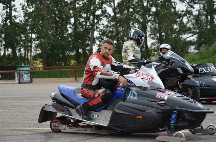 Kamloops man uses disability to fuel passion for speed