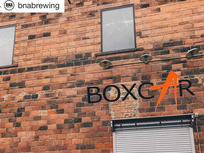 Boxcar at BNA Brewing is set to open this fall