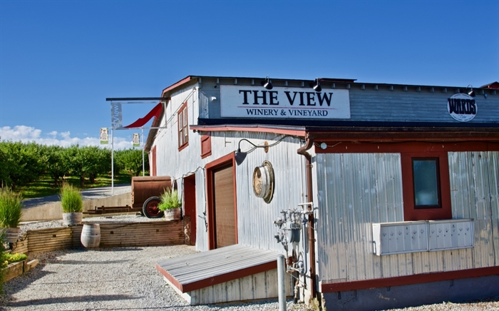 The View Winery & Vineyards and Wards Cider is a destination for wine and cider lovers as well as agriculture history buffs in South East Kelowna.