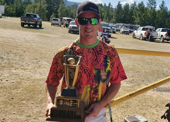 Chris Throssell says he was surprised to learn his beer league slo-pitch team name, the Kamloops Kamshine Savages, was written about in an Okanagan-Similkameen newspaper. The column says the team name was offensive but Throssell says the name was inspired by WWE legend Macho Man Randy Savage and was not intended to be derogatory.