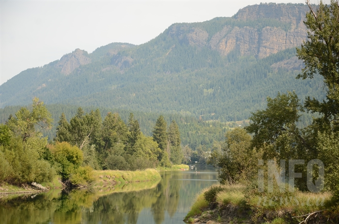 Enderby is generally known as a great place to float on the river.