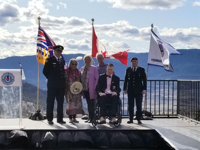 A launch ceremony of the honour Ranch was held on Saturday, Oct. 5, 2019, near Ashcroft.