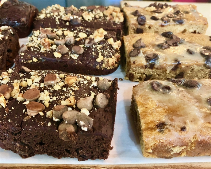 GF Brownies & Blondies and more at One Big Table
