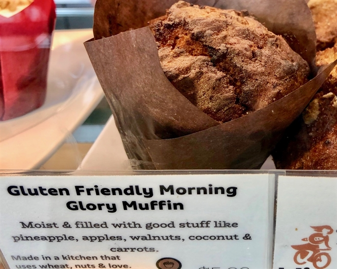 Morning Glory Muffins are a favourite at Bliss