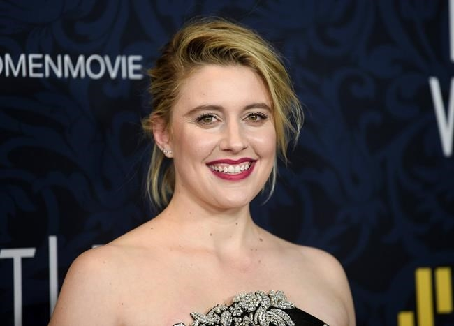 Director Greta Gerwig attends the premiere of