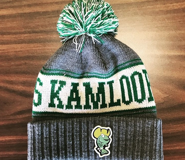 The green Kami the Fish toque has sold out.