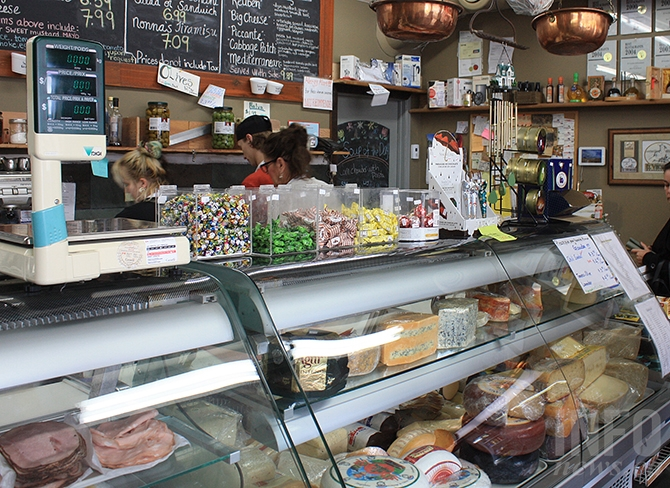 An astounding number of choices make Penticton's Il Vecchio Delicatessen a favourite lunch stop in the city.