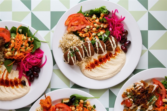 Nuba is a delicious Lebanese food restaurant that has joined the collaborative offering take out options etc.