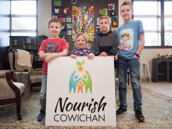Nourish Cowichan feeds the many children in need in their community.