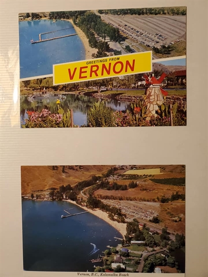 Vernon postcard from the 1970s.